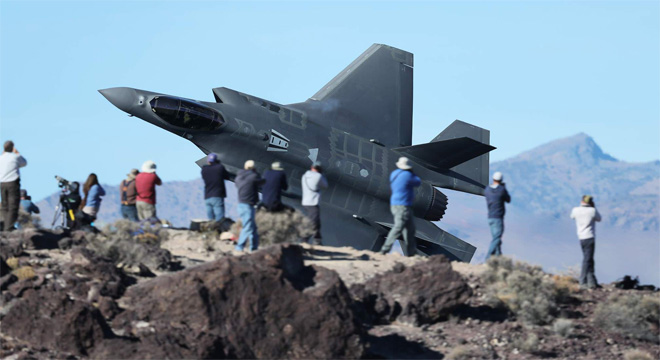 F-35A no Star Wars Canyon